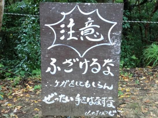 城山オレンヂ園恐怖のアスレチック11