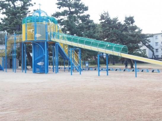 浜寺公園_真ん中辺りの滑り台