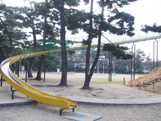 浜寺公園_大きな滑り台正面