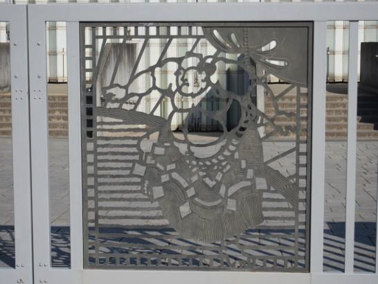 大浜公園相撲場の門
