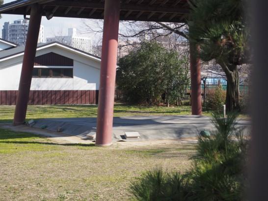 大浜公園相撲場の野外土俵