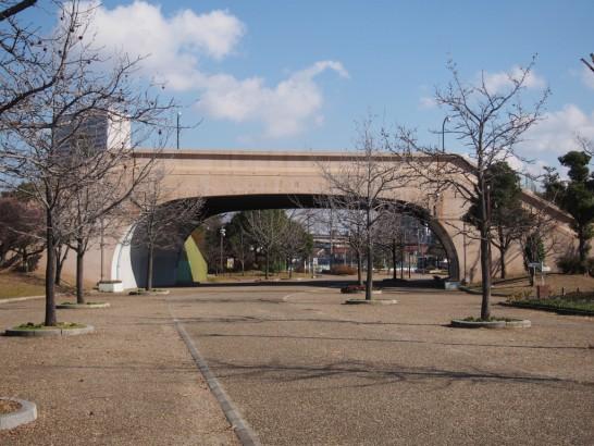 大浜公園のおとひめ橋