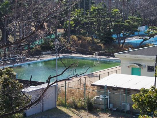 大浜公園のプール