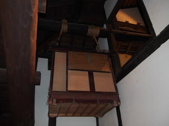 山口家住宅の籠