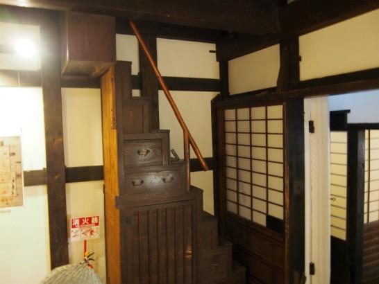山口家住宅の階段