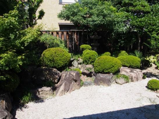 山口家住宅の庭2