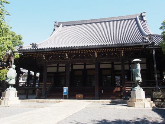 本願寺堺別院の銅像