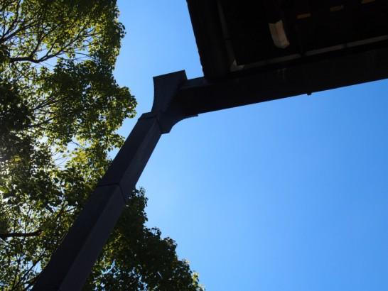 本願寺堺別院の雨樋