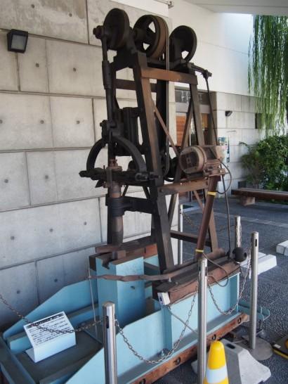 堺伝統産業会館ベルトハンマー