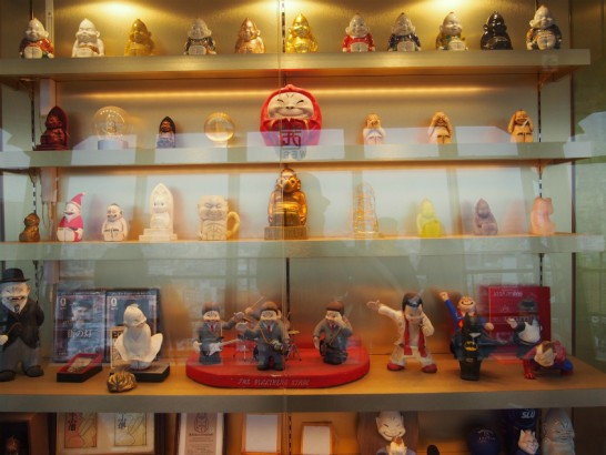 ビリケン人形たくさん