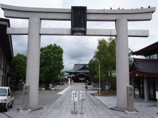 出雲大社大阪分祀の入り口鳥居