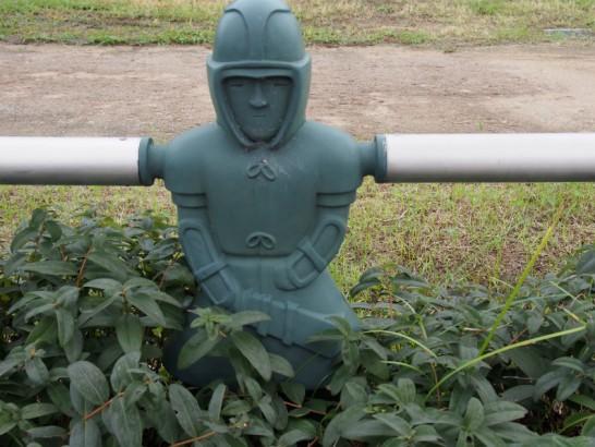 ニサンザイ古墳の埴輪