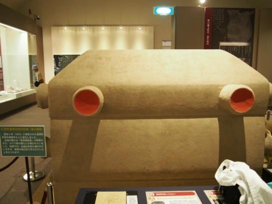 堺市博物館_仁徳天皇陵石棺の模型