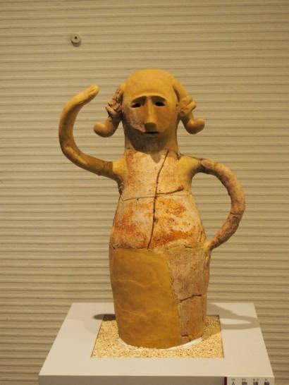 堺市博物館_面白い顔の埴輪