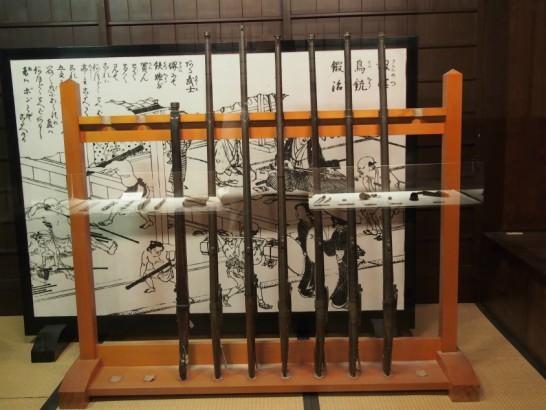 堺市博物館_火縄銃
